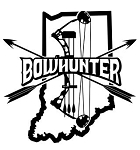 Indiana Bowhunter v2 Decal Sticker